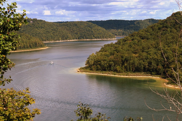 Center Hill Lake from TN56 Scenic Overlook