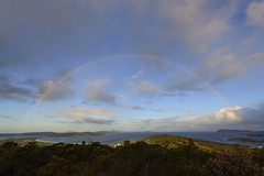 (Double) Rainbow on Mount Clarence (EggHdz) Tags: sunset clouds australia roadtrip albany oceanview doublerainbow westernaustralia birdseyeview mountclarence