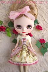 Dress Set ≈ Primrose Francesca ≈ for Blythe doll handmade by Kikihalb