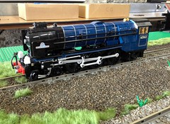Three bottles of wine later... (michaelgale) Tags: lego pacific great steam western locomotive a1 moc lner grea craptasticerror