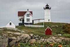 Cape Neddick Light - York, ME (craig.shaknis) Tags: ocean lighthouse maine 2014 capeneddicklighthouse