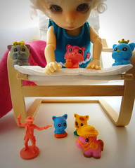 C is for Chloe (cheesemoopsie) Tags: cats cat cowboy doll ante chlo