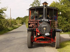 Foden steam Wagon TF 3106 (Ben Matthews199