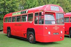 140651-MXX410-AEC Regal IV-(RF433)-London Transport. (day 192) Tags: bus buses duxford regal lt londontransport imperialwarmuseum iwm aec vintagebus busrally showbus transportshow imperialwarmuseumduxford classicbus preservedbus aecregal rf433 mxx410 transportrally