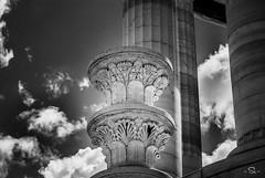 Nuvole al Passetto #3 (m0n0n0ke_hime) Tags: city sky urban blackandwhite bw italy cloud monochrome architecture mono blackwhite nikon nuvole cielo architettura biancoenero citt ancona passetto monumentoaicaduti