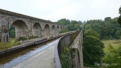 Chirk Aqua & Viaduct (Bob.W) Tags: chirk viaduct aquaduct infinitexposure
