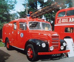 Ford Thames PLF623 Firefly fire engine (Shaun Ballisat Transport Photography) Tags: ford thames truck fire engine lorry vans trucks van firefly lorries fordson vintagevehicles applicance