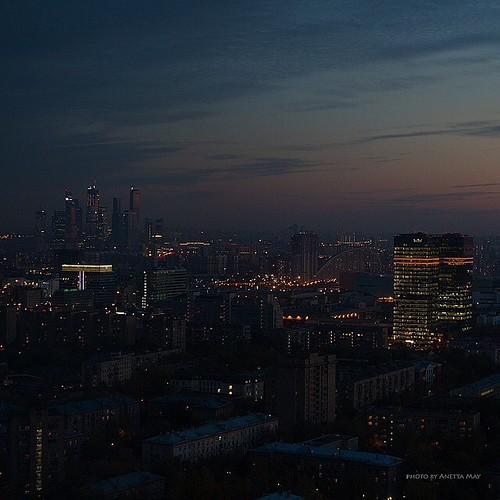 МОСКВА ( вечер )