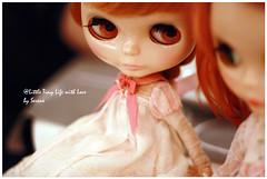 Dear Lele girl in a solf pink love