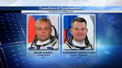 Expedition 41 Spacewalkers (NASA Johnson) Tags: eva nasa spacewalk russianfederalspaceagency internationalspacestation roscosmos expedition41