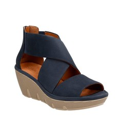 "Clarks Clarene Glamor sandal navy • <a style=""font-size:0.8em;"" href=""http://www.flickr.com/photos/65413117@N03/32766983734/"" target=""_blank"">View on Flickr</a>"