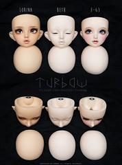 [comparison] Volks Lorina | Beth | F-63 (TURBOW) Tags: doll toy dollfie bjd balljointeddoll volks superdollfie sdgr sd fcs lorina bethmarch f63 comparison