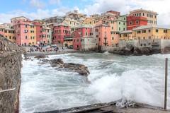 Boccadasse (Alax66) Tags: boccadasse colors genova colore mare liguria italy italia case