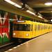 Europa, Deutschland, Berlin, Charlottenburg, U-Bahnhof Mierendorffplatz, U-Bahn-Linie U7