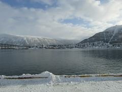 Across to Tromsdalen on the mainland
