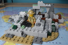 Lego WW2 Ruin Moc // Top (brickmove) Tags: lego ww2 moc custom britan german ww1