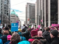 IMG_0298 (justine warrington) Tags: womens march womensmarch womensmarchonwashington washington pink pussy hats pinkpussyhat protest signs trump 45th presidential election january 21st 2017 potus resist resistance is fertile