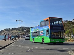 Go South Coast 1401 - HF09FVU (Northern Southerner) Tags: shanklin opentop scania isleofwight