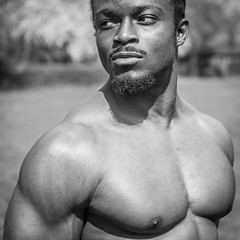 IMG_6133 (Zefrog) Tags: zefrog london uk muscle man portraiture bw pecs fit fitness blackman iyo personaltrainer bodybuilder