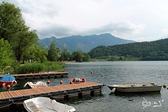 Lago di Levico - Italy! (Biagio ( Ricordi )) Tags: lago lake levico montagna trentino italy nuvole