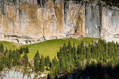 Blick zum Berggasthaus Aescher im Alpstein Apenzellerland, Schweiz (Bernd Edelmann) Tags: aescher appenzellerland alpstein schweiz berge switzerland alpen alps mountains nature natur landschaft landscape