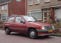 Opel Corsa A1 1.2S Luxus 2-7-1985 NK-55-LD (Fuego 81) Tags: opel corsa a 1985 nk55ld onk sidecode4
