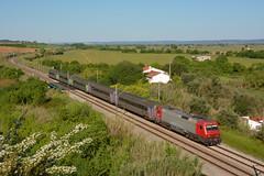 IC 722 - Assacaias (valeriodossantos) Tags: comboio cp train passageiros 5600 locomotivaelétrica corail carruagens intercidades cplongocursorápido assacaias santarém linhadonorte caminhosdeferro portugal