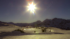 IMG 2580 PS 1200sfa (Fat Alan) Tags: sun sunset snow mountain alp alps ski piste pistes fattalan fatalan fat alan vienna wien vienne
