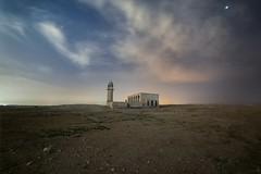 Under The Clouds & Starts- Qatar (zai Qtr) Tags: qatar zaiqtr rawdatrashid mosque abandoned night stars clouds samyang 14mm clours canoncolors outdoor