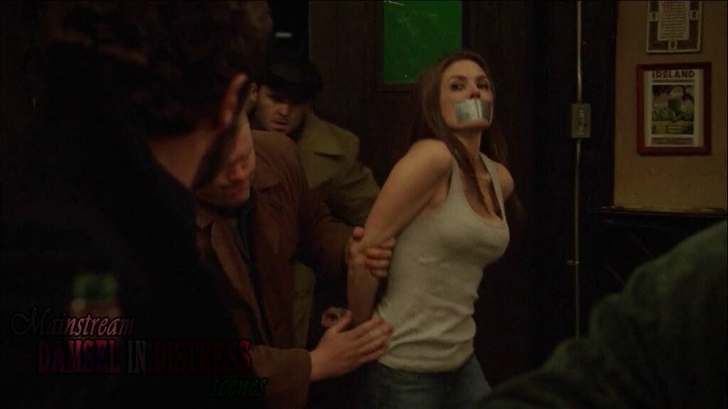 Paige Turco Life On Mars 1x18 Bound Gagged 1
