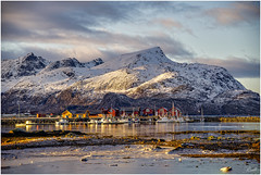 Early morning light in Lofoten Islands (mad_ruth) Tags: lofotenislands mountains clouds ice rocks k1 pentax reflections greatphotographers greaterphotographers greatestphotographers