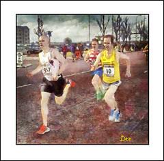 LIVERPOOL HALF MARATHON  2012 (DEREK HYAMSON . OVER 5 AND A HALF MILLION) Tags: hdr impression candid halfmarathon2012 liverpool