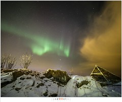 Traces of Northern Lights (nandOOnline) Tags: nordland landschap noorwegen eiland nature fjorden lofoten norway auroraborealis winter noorderlicht moskenes svolvaer natuur winterlandschap aurora austvã¥gã¸y islands fjord svinã¸ya flakstadã¸ya northernlight landscape nordlandlofoten austvågøy flakstadøya svinøya