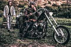 (steven.young6) Tags: chopper hd rider motorcycle