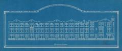 Woningen aan de Paterswoldseweg 19-33, Peizerweg 1-17 en de Van Speykstraat 2-24, in 1913/14 gebouwd i.o.v. de Gebr. Christiaan en Pieter Keiser & Geert Ronner, mogelijk ontworpen door architect Pieter van de Wint (1865-1940). (hansr.vanderwoude) Tags: hansrvanderwoude architecture pietervandewint pvandewint paterswoldseweg peizerweg speykstraat ronner drewes christiaan