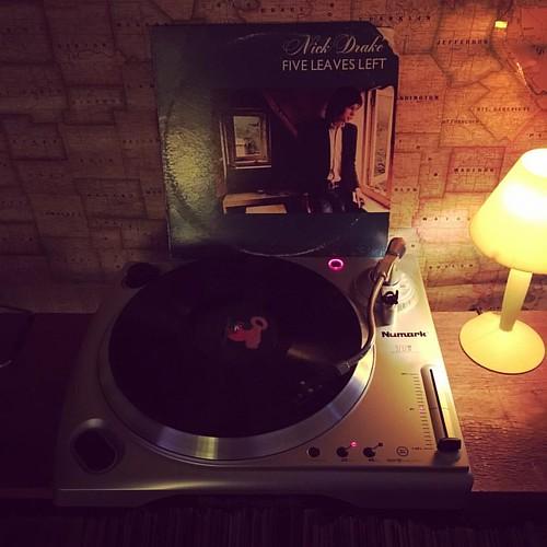 Belated #mondaylongplay #vinyl post: Nick Drake's