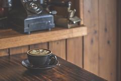 Good Old Days (satochappy) Tags: coffee cafe cafeonceuponatime vintage antique retro telephone iron