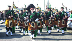 Pipe band marching (Frank Fullard) Tags: frankfullard fullard piper band pipeband kilt march parade stpatrick achill 2016 music tradition heritage history island irish ireland mayo holidat national feast feastday celebrate festive festival