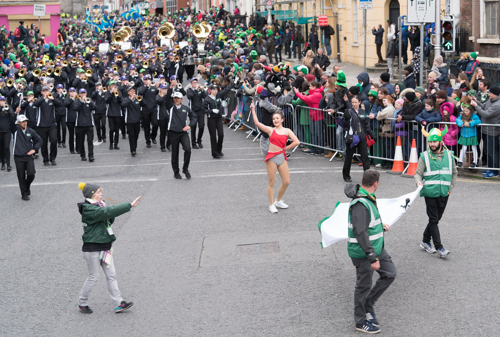 Pacific Northwest Intercollegiate Marching Band [St. Patricks Day Parade In Dublin 2017]-125719