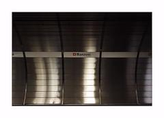 Metro ! (CJS*64) Tags: rome italy cjs64 craigsunter cjs nikon nikkorlens nikkor abstract manzoni metro station waiting silver sign shine boarder whiteborder