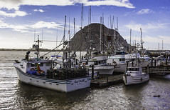 Jeff Jones-07_AnythingGoes_MoroRockDockView_IMG_7613_0154 (Paso Robles Photo Guild) Tags: boats clouds phototype seascape