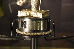"Nirvana's ""Smells Like Team Spirit"" Best Alternative Video 1992 (Adventurer Dustin Holmes) Tags: 2017 mtv mopop museumofpopculture seattlewa seattlewashington seattle museum music memorabilia nirvana videomusicaward smellsliketeamspirit"