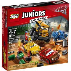 LEGO Juniors Cars 3 10744 - Thunder Hollow Crazy 8 Race (THE BRICK TIME Team) Tags: lego brick easy build disney pixar tow mater cars 3 2017 673419266826 10744 6175615 box set