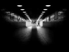 exit (frank_hb) Tags: bw blackwhite blackandwhite black subway silhouette street streetphotography berlin contrast humaninarchitecture dark darkart schatten