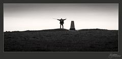 The reluctant Semaphore (M Gardner Photography) Tags: devilsdyke joe sussexdowns