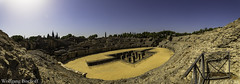 Amphitheatre Italica (Wolfgang_Bischoff) Tags: santiponce andalucía spanien es italica amphitheatre