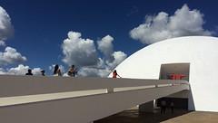 Head in the clouds . . . (ericrstoner) Tags: museunacional nationalmuseum oscarniemeyer niemeyer brasília distritofederal ramp rampa cloud nuvem hostess