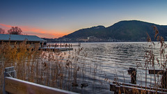 Frosty Morning. (joseph_donnelly) Tags: tegernsee lake see bayern bavaria germany morning morgen sonnenaufgang sunrise frost frosty mountains berge