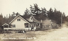 c. 1930 Stride Real Photo Postcard - Crescent Beach Summer Cottages at Crescent Beach, British Columbia, Canada (Baseball Autographs Football Coins) Tags: postcard summercottages summerhome home cottage crescentbeach britishcolumbia bc stride stridepostcard