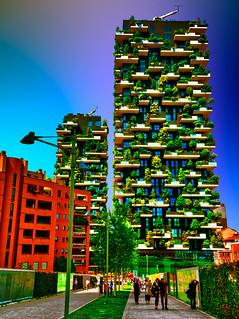 Milano - Bosco Verticale - Vertical Forest